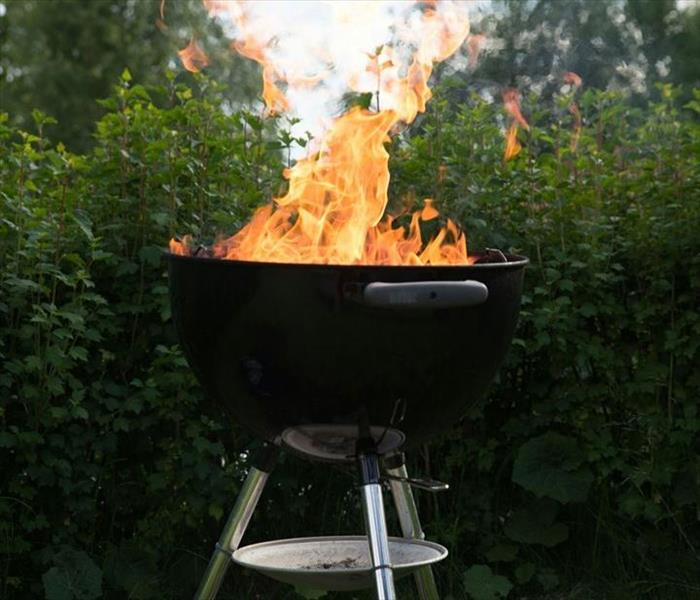 Fire Damage Avoid Disaster! SERVPRO Offers Fire Safety Tips for Your BBQ Grilling This Summer