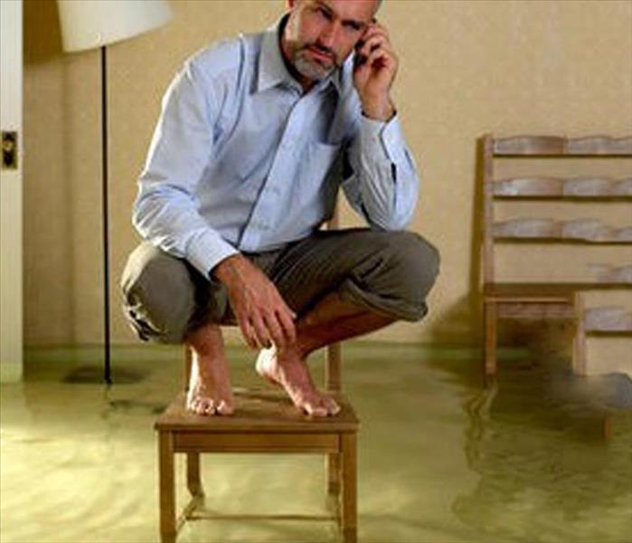 Water Damage SERVPRO  Water Damage Specialists release report on common water damage scenarios